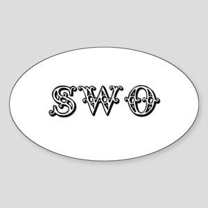 Swotivate Oval Sticker