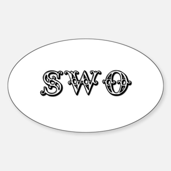Swotivate Oval Decal