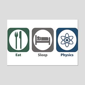 Eat Sleep Physics Mini Poster Print