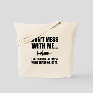 Stab Syringe Medical Tote Bag
