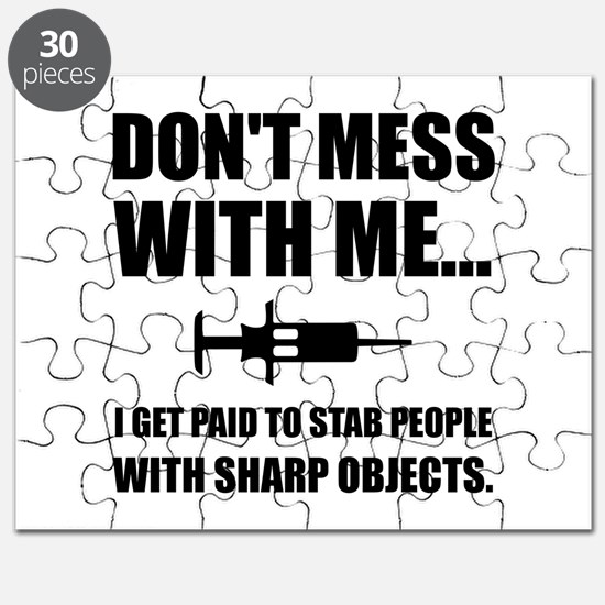 Stab Syringe Medical Puzzle