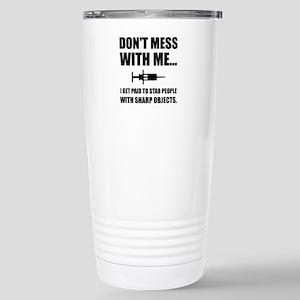 Stab Syringe Medical Travel Mug