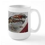 House Sparrow Large Mug