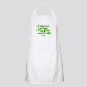 ALWAYS REMEMBER.. BBQ Apron