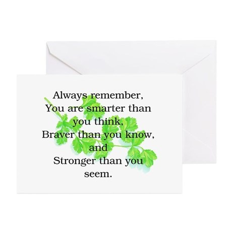 ALWAYS REMEMBER.. Greeting Cards (Pk of 10)
