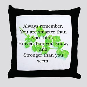 ALWAYS REMEMBER.. Throw Pillow