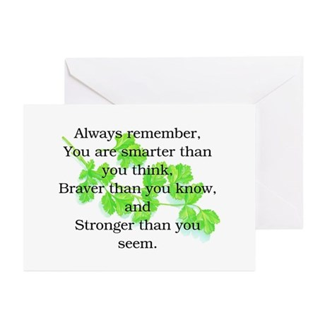 ALWAYS REMEMBER.. Greeting Cards (Pk of 20)