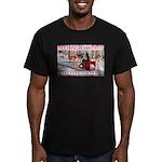 TouringTroyBuilt Men's Fitted T-Shirt (dark)