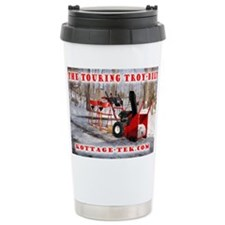 TouringTroyBuilt 16 oz Stainless Steel Travel Mug