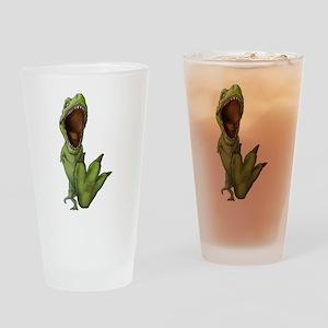 Dino Stomp Drinking Glass