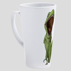 Dino Stomp 17 oz Latte Mug