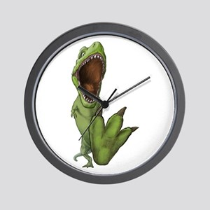 Dino Stomp Wall Clock