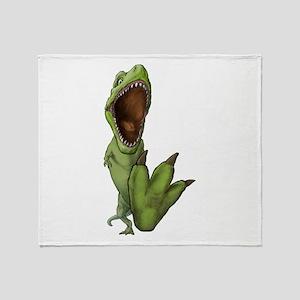 Dino Stomp Throw Blanket