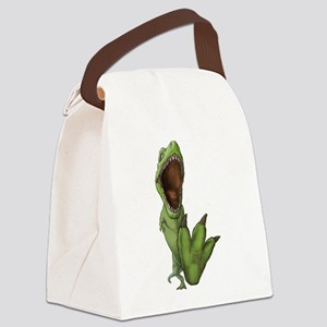 Dino Stomp Canvas Lunch Bag