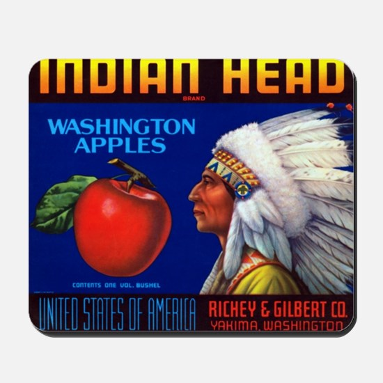 Indian Head Mousepad