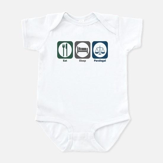 Eat Sleep Paralegal Infant Bodysuit
