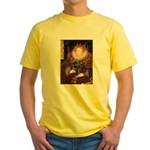 The Queen's Brindle Cairn Yellow T-Shirt