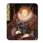 The Queen's Brindle Cairn Mousepad