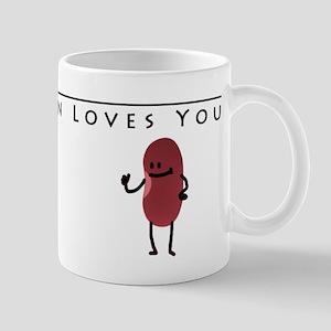 Bob The Bean Loves You Mug