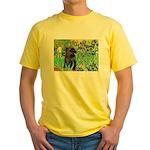 Irises / Cairn (#17) Yellow T-Shirt