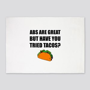 ABS Great Tried Tacos 5'x7'Area Rug