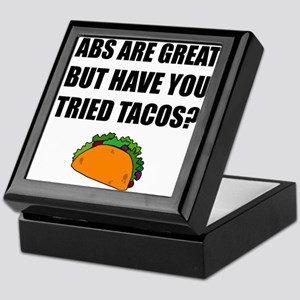 ABS Great Tried Tacos Keepsake Box