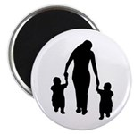 """Mother and Children 2.25"""" Magnet (100 pack)"""