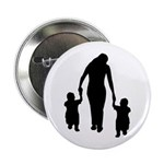 """Mother and Children 2.25"""" Button"""