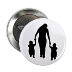 """Mother and Children 2.25"""" Button (100 pack)"""