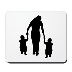 Mother and Children Mousepad
