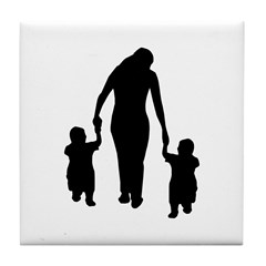 Mother and Children Tile Coaster