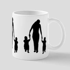 Mother and Children Mug