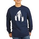 Mother and Children Long Sleeve Dark T-Shirt
