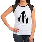 Mother and Children Women's Cap Sleeve T-Shirt