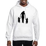 Mother and Children Hooded Sweatshirt