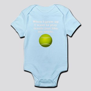 Play Tennis Like My Uncle Body Suit