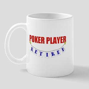 Retired Poker Player Mug
