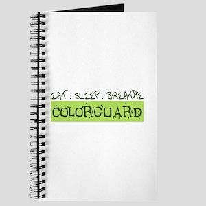 EAT . SLEEP . BREATHE Colorguard Journal