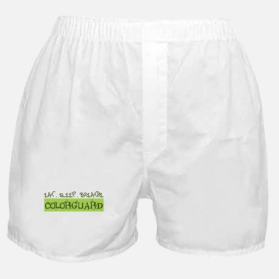 EAT . SLEEP . BREATHE Colorguard Boxer Shorts
