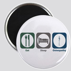 Eat Sleep Osteopathy Magnet