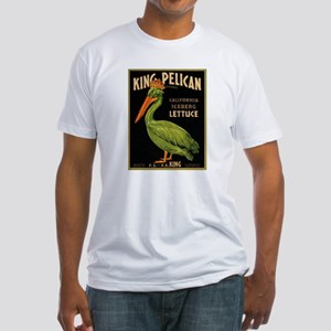 King Pelican Fitted T-Shirt