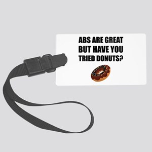 ABS Great Tried Donuts Luggage Tag