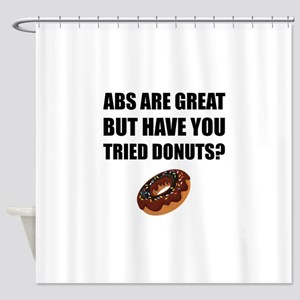 ABS Great Tried Donuts Shower Curtain