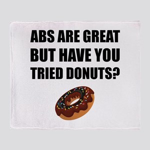 ABS Great Tried Donuts Throw Blanket