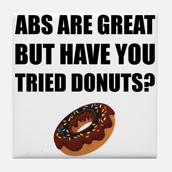 ABS Great Tried Donuts Tile Coaster