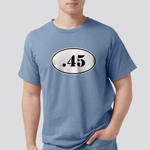 .45 Oval Design T-Shirt