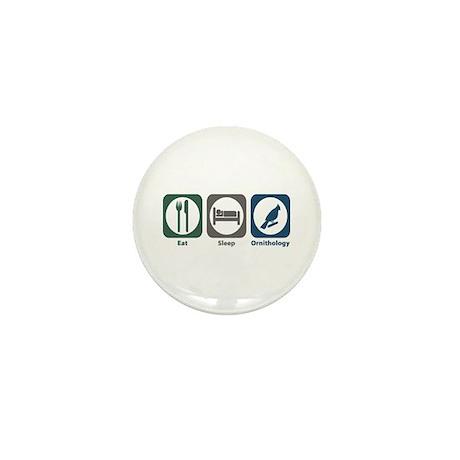 Eat Sleep Ornithology Mini Button (10 pack)