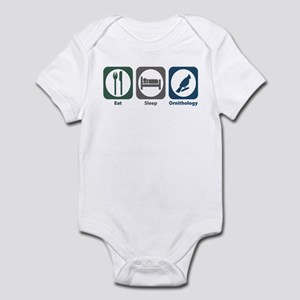 Eat Sleep Ornithology Infant Bodysuit