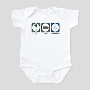 Eat Sleep Orienteering Infant Bodysuit