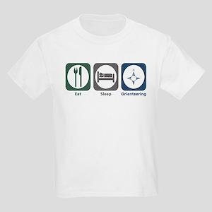 Eat Sleep Orienteering Kids Light T-Shirt